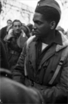 Augustin Centelles Spanish Civil War photo - black soldier
