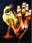 """The Scream"" by Oswaldo Guayasamin"