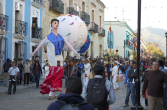 Oaxaca street scene