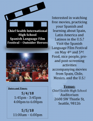 Spanish Language Film Festival – Outsider Heroes at Chief Sealth High School