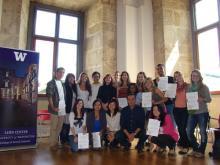 Graduates of Leon program