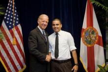 Marcelo Ramírez meets Vice-President Joseph Biden
