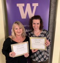 Senior Lecturers Marilis Mediavilla and Sabrina Spannagel presented at the 2019 WAFLT Conference