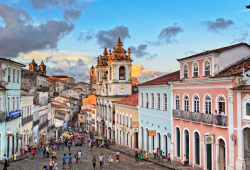 Pelourinho, Historic Center of Salvador da Bahia, Brazil