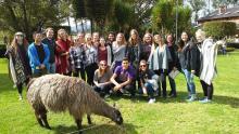 UW Students in Quito