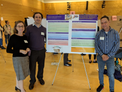 Raneda, Rueda and Gonzalez Casanova Present at Center for Teaching and Learning Symposium