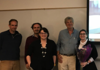 Student Sarah McKay with SPS Faculty
