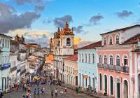 Pelourinho, Historic Center of Salvador da Bahia, Brazil