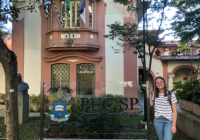 Sarah Slack in São Paulo