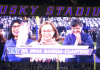 DTA Recipient Raneda-Cuartero Honored during UW vs. Cal Game
