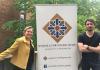 PhD Recipents Katherine M. King and Juan Felipe Arroyave