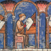 "Jewish scribes depicted in the famous Libro de los juegos (""Book of games"")"